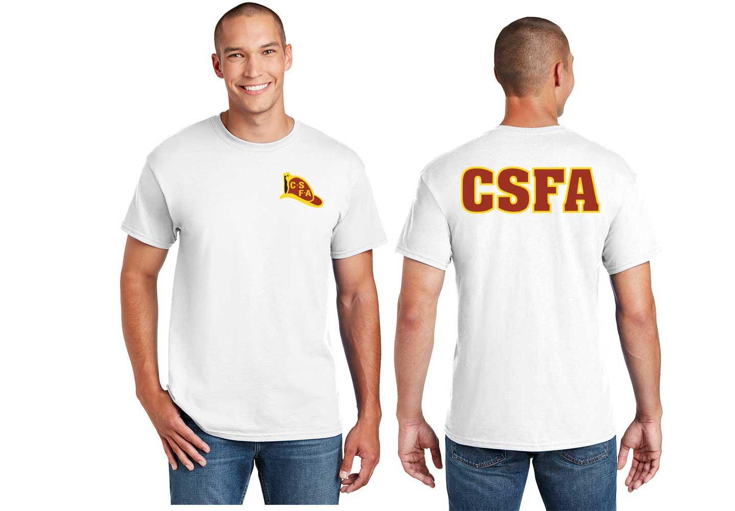 Short Sleeve T-Shirt Full Color Iconic Logo (G800) -