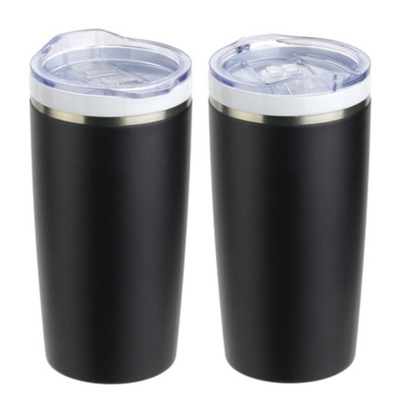 DEMO - DTM-CF19 CARDIFF 20 OZ CERAMIC-LINED STAINLESS STEEL TUMBLER-
