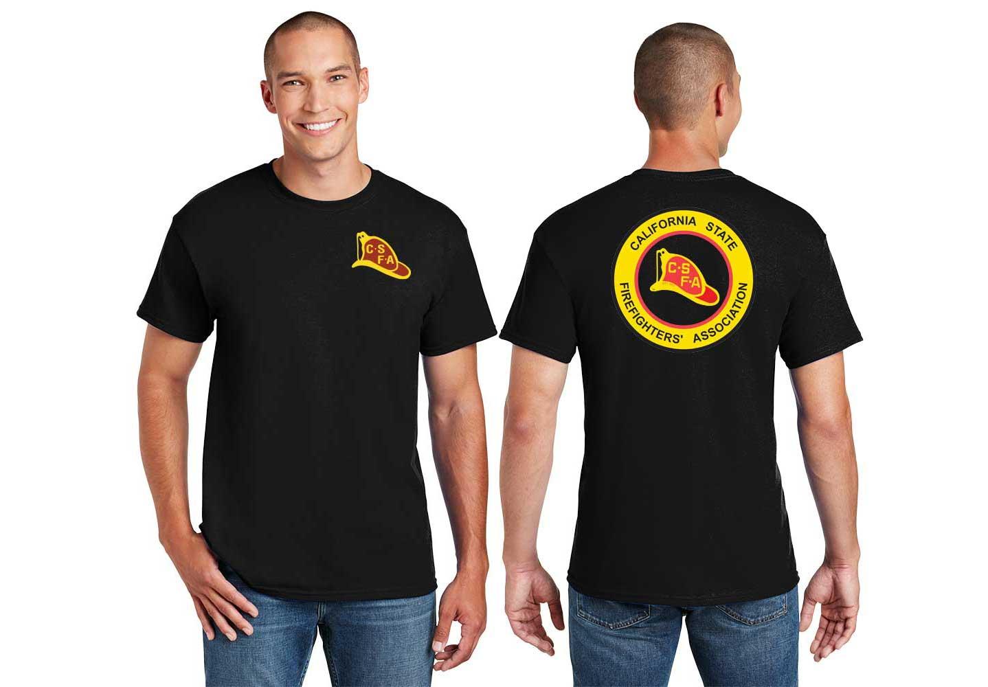 Short Sleeve T-Shirt Traditional Logo (G800) -