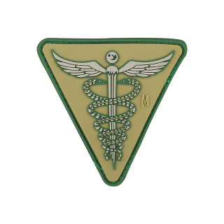 "Caduceus Patch  2.6"" x 2.6""-Maxpedition"