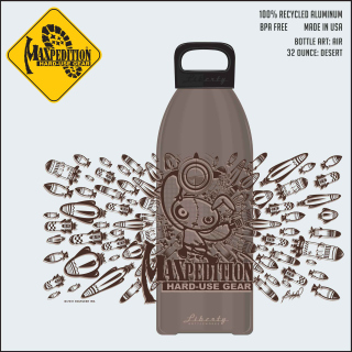 "MAXPEDITION 32oz Water Bottle ""AIR""-Maxpedition"