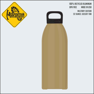 "MAXPEDITION 32oz Water Bottle ""MILITARY""-Maxpedition"