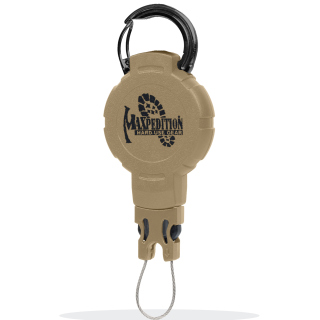 Tactical Gear Retractor - Medium - Snap Ring