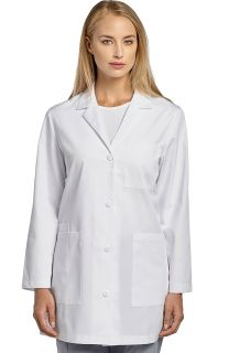 2411 Lab Coat-White Cross