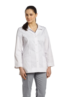 2415 4 Button Labcoat-