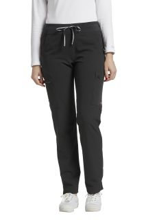 Pant with zip-cargo pkt