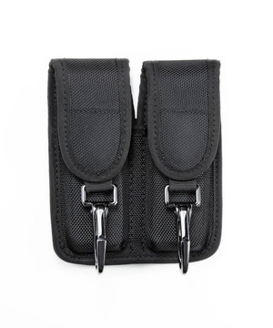 Double Magazine Pouch w/2 Clips - Medium-Hero's Pride