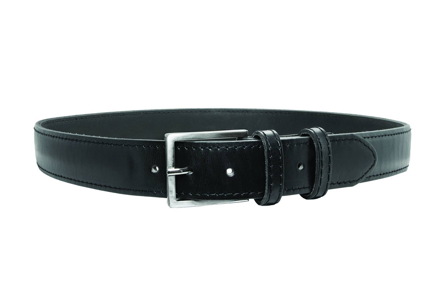 "1.5"" Concealed Weapons Belt, AirTek™, Plain, Black-"