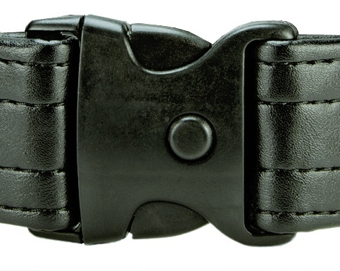 "Extra 2"" Triple-Lock Buckle System for Duty Belt"
