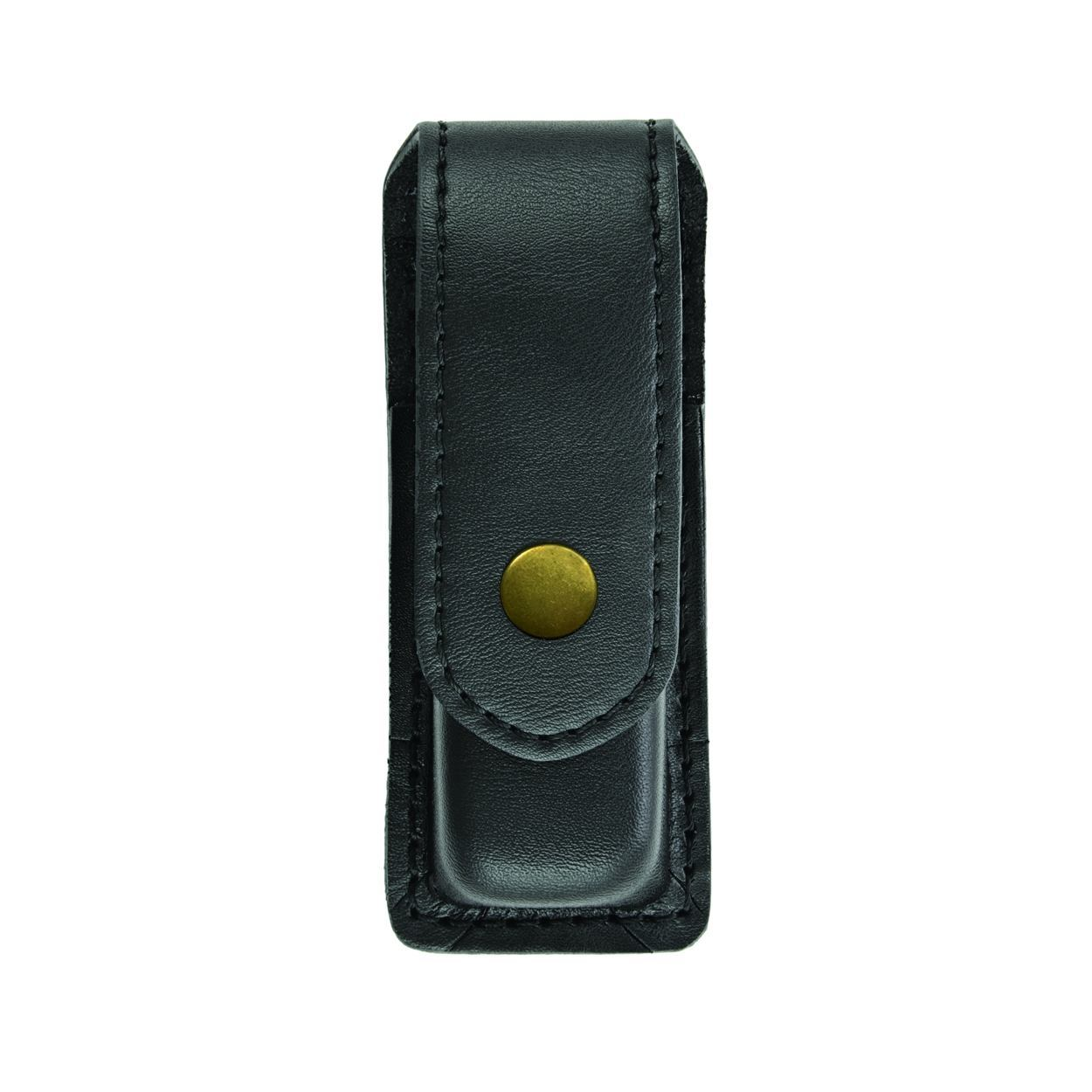 Single Magazine (or Knife) Case, Medium, AirTek, Smooth, Gold Snap-