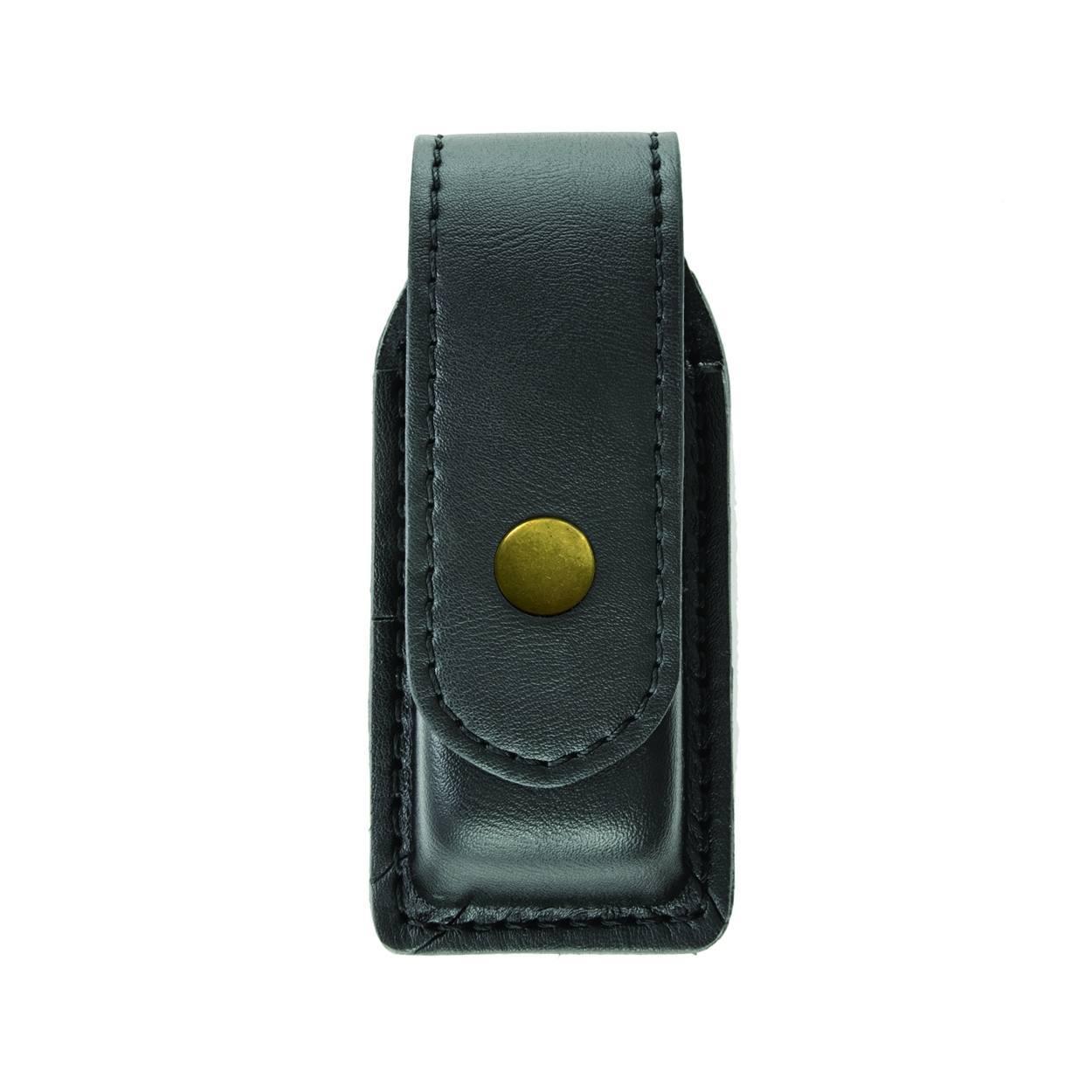 Single Magazine (or Knife) Case, Large, AirTek, Smooth, Brass Snap-