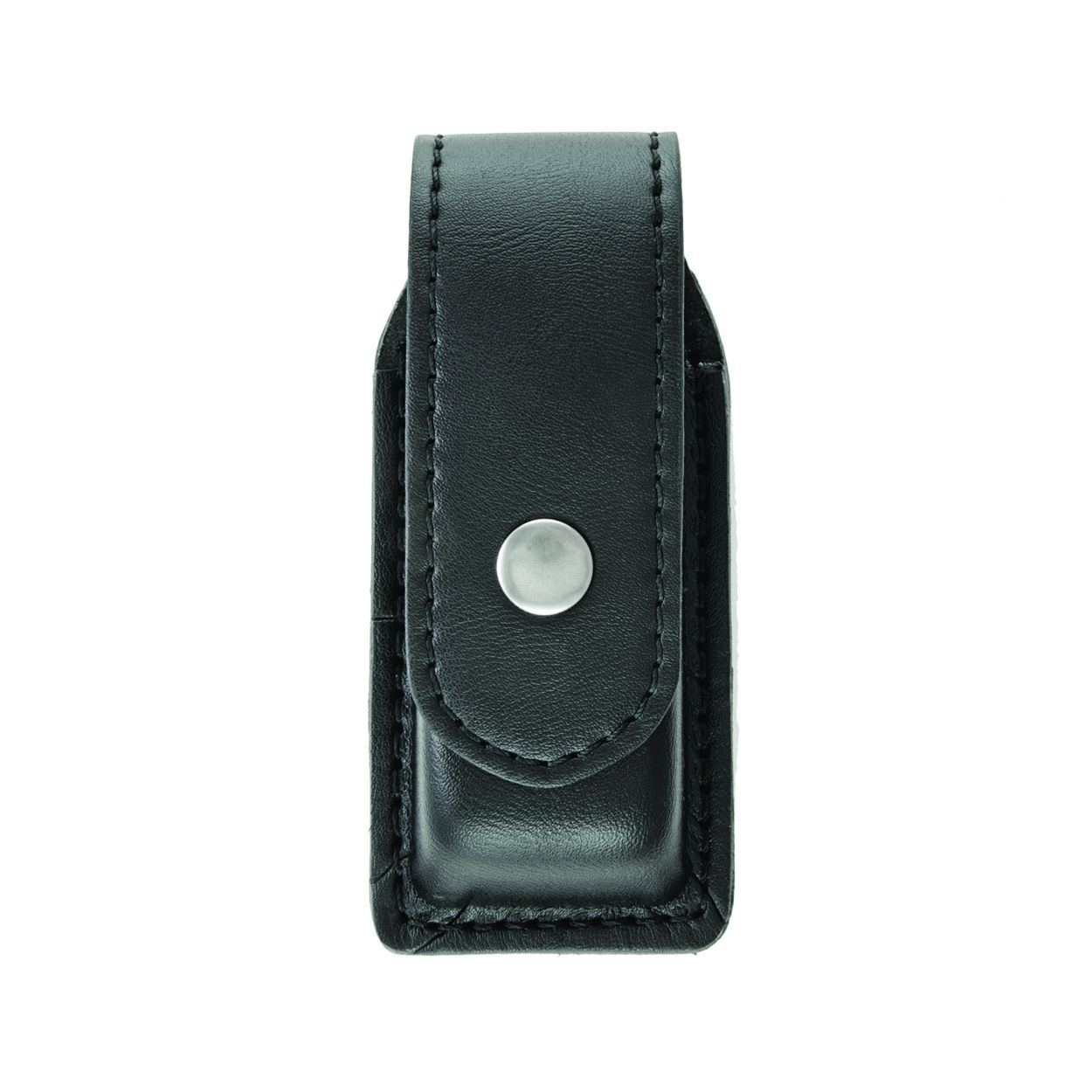 Single Magazine (or Knife) Case, Large, AirTek, Smooth, Nickel Snap-