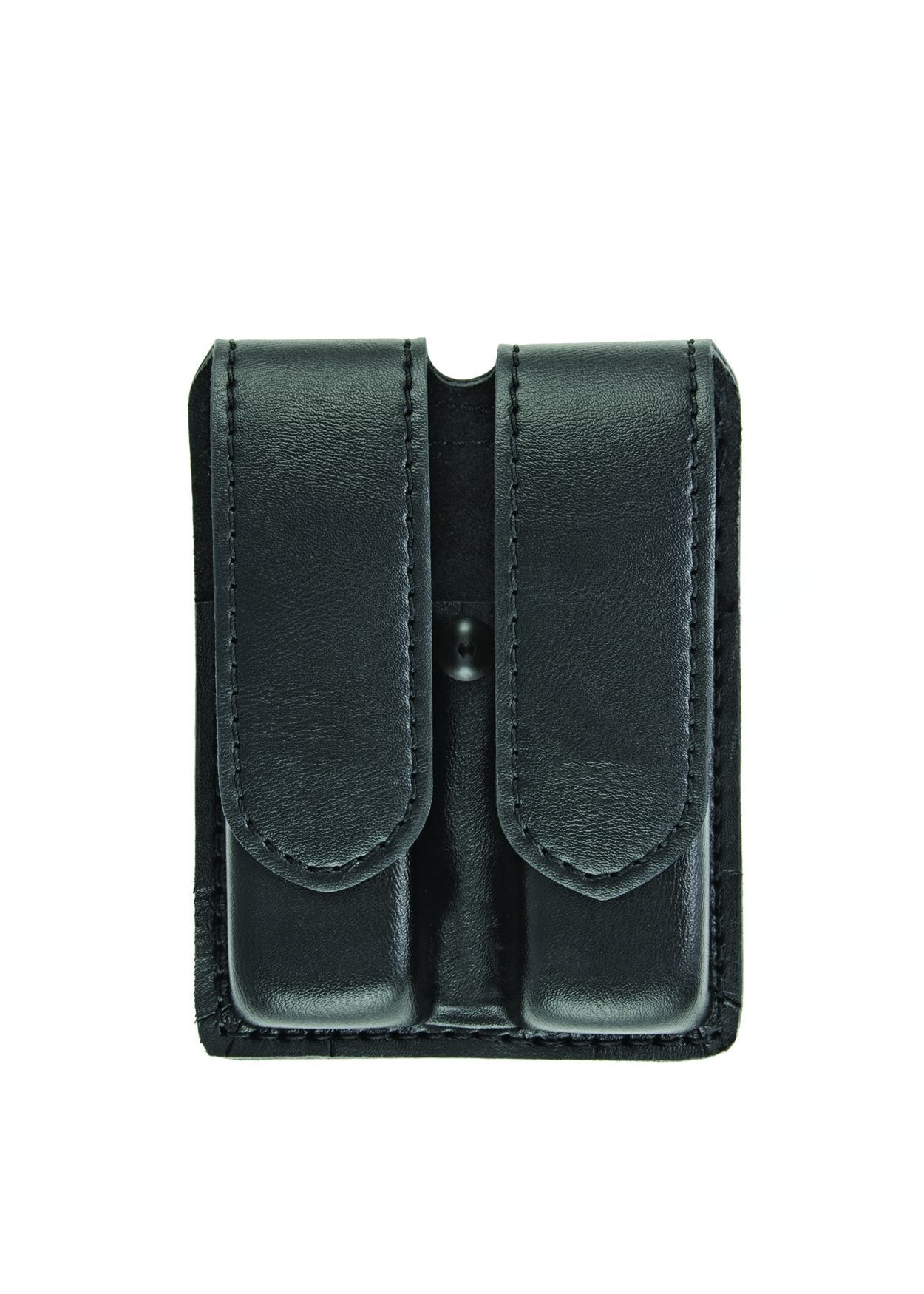 Double Magazine Case, Medium, AirTek, Smooth, Hidden Snaps-