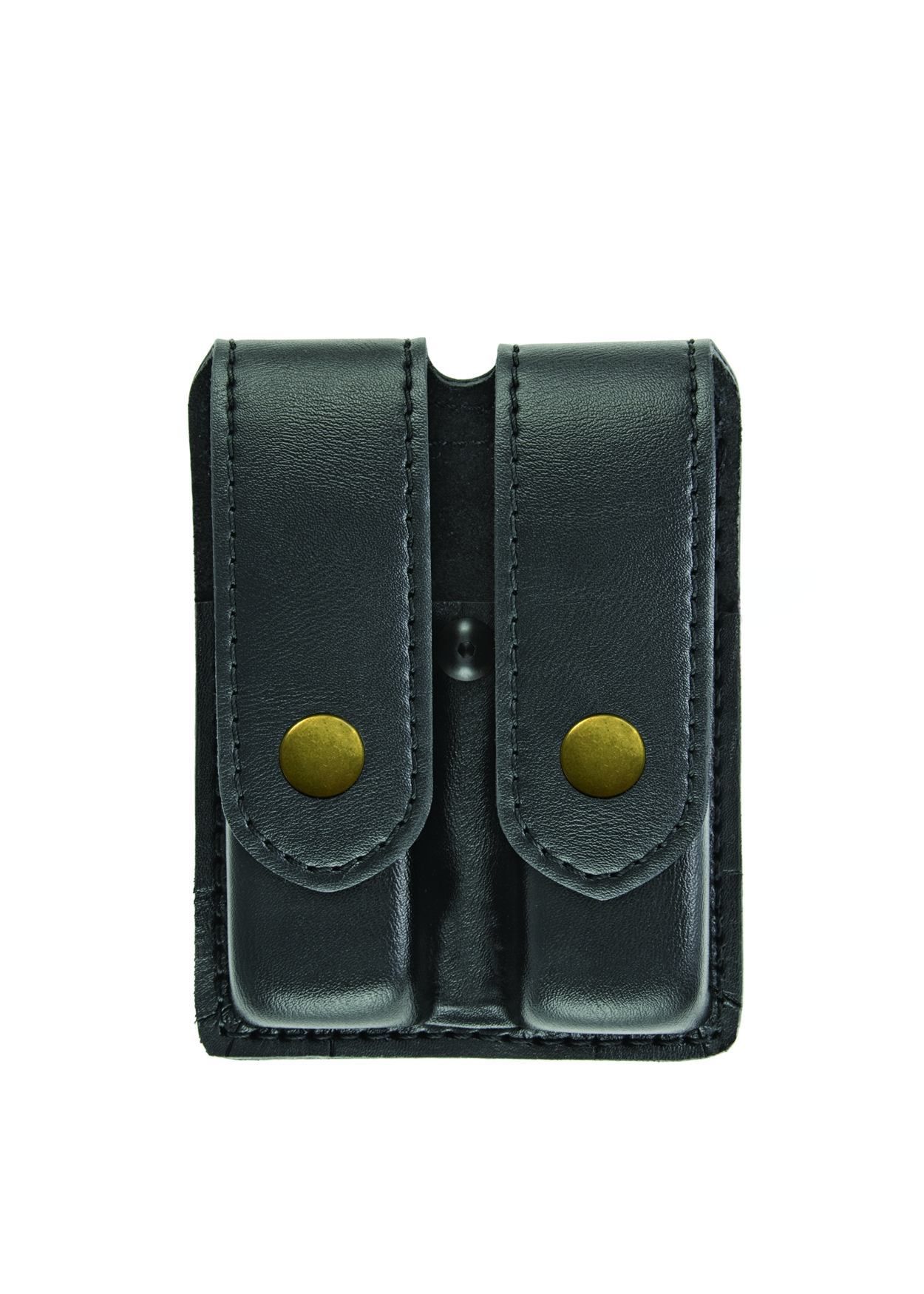 Double Magazine Case, Medium, AirTek, Smooth, Brass Snaps