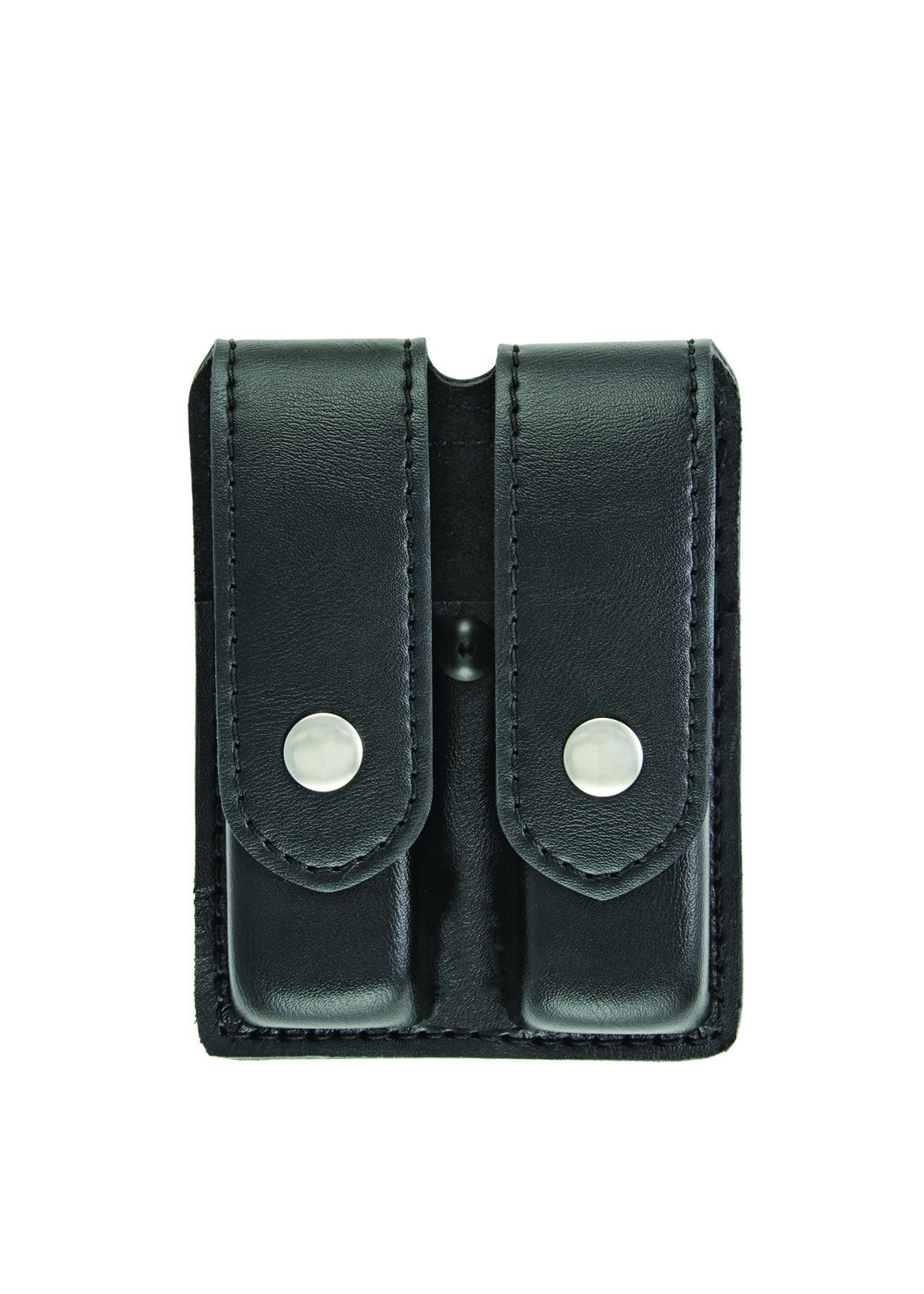 Double Magazine Case, Medium, AirTek, Smooth, Nickel Snaps-