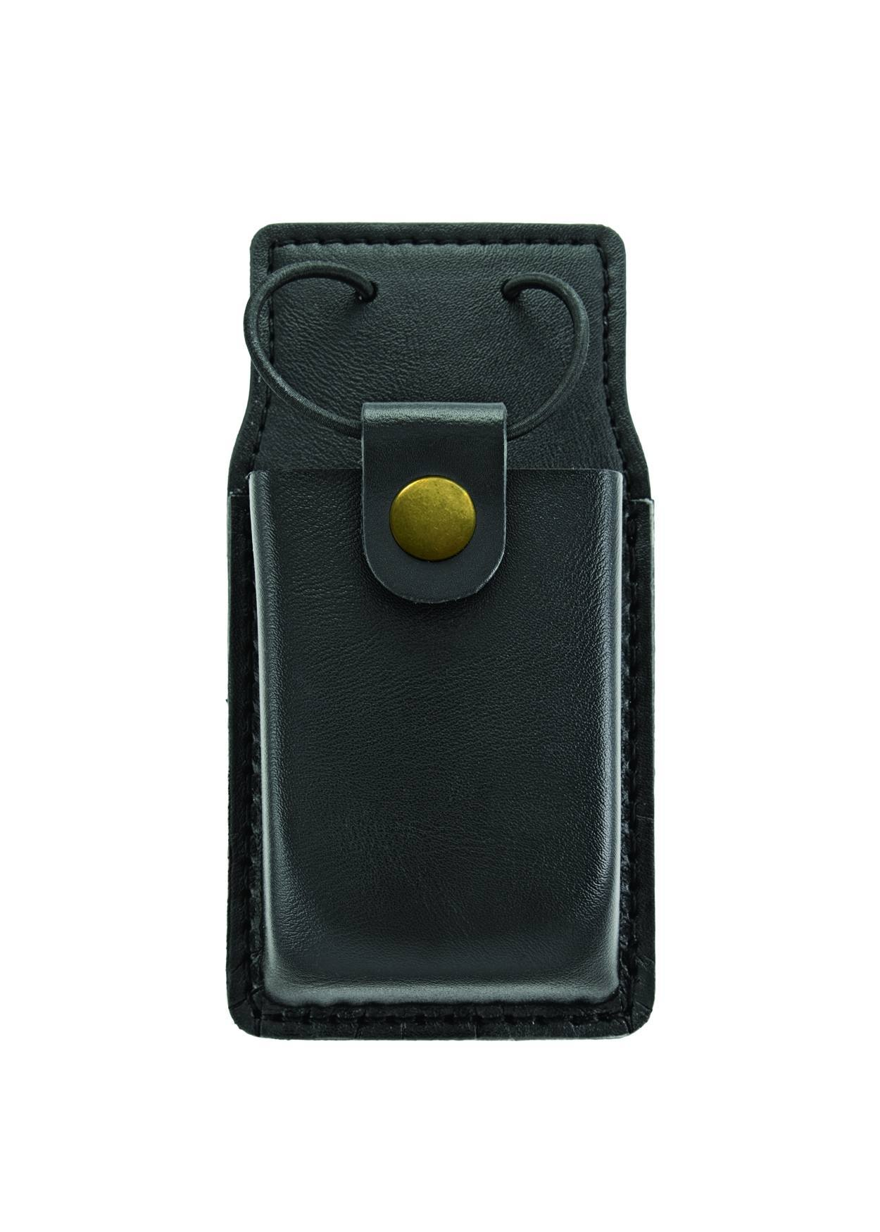 Radio Case w/ Swivel, Medium, AirTek, Smooth, Gold Snap-