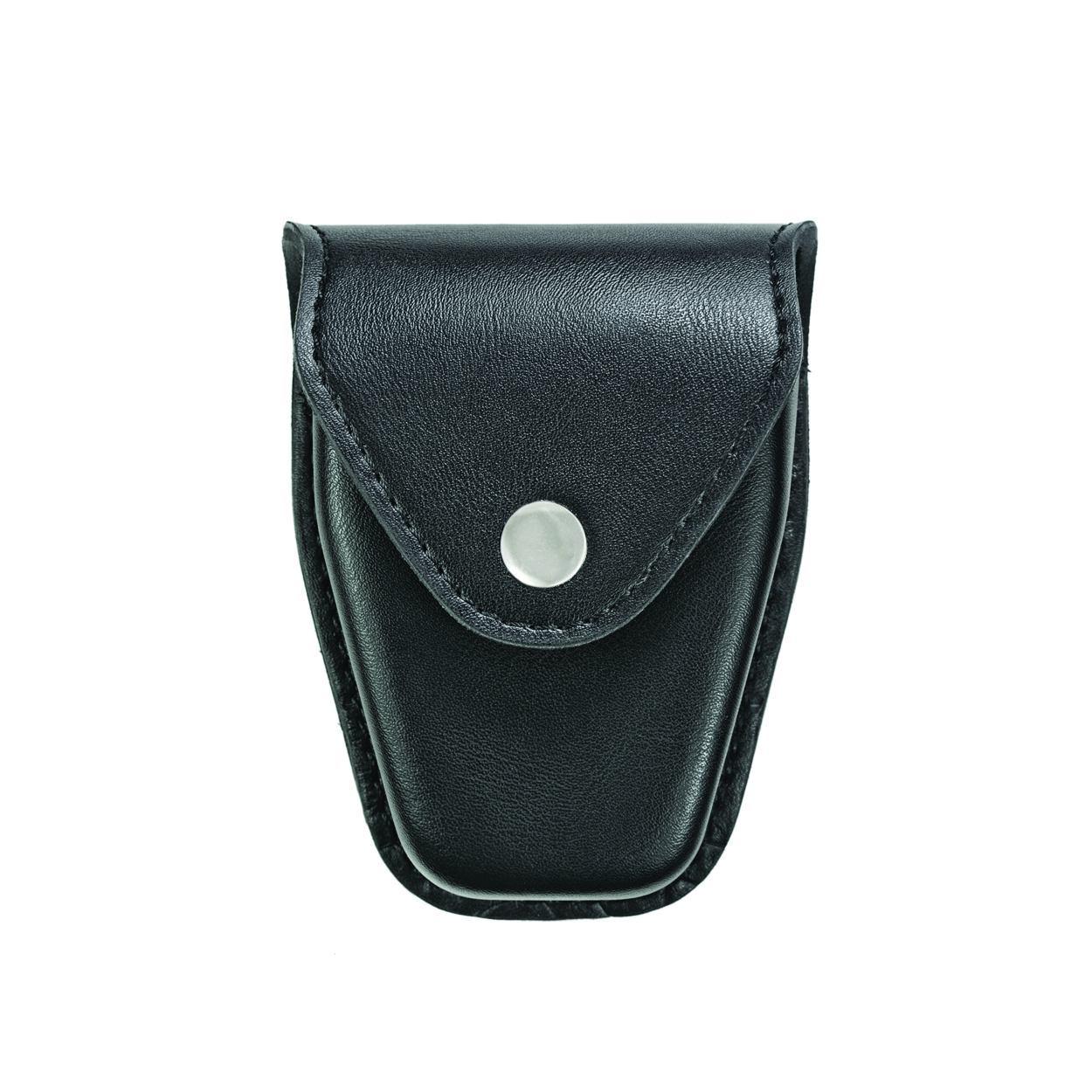 Handcuff Case, Double, Reg & ASP™ Chain, AirTek, Smooth, Nickel Snap-Hero's Pride