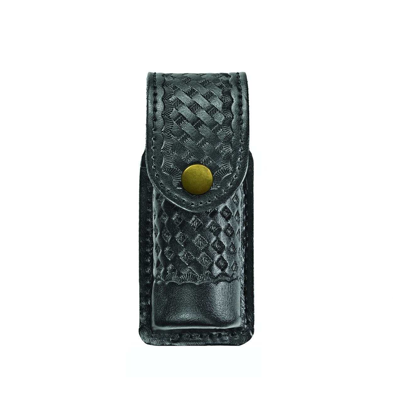 O.C. (Pepper) Spray Case, Small, MK3 (MK2,6), AirTek, BW, Gold Snap-