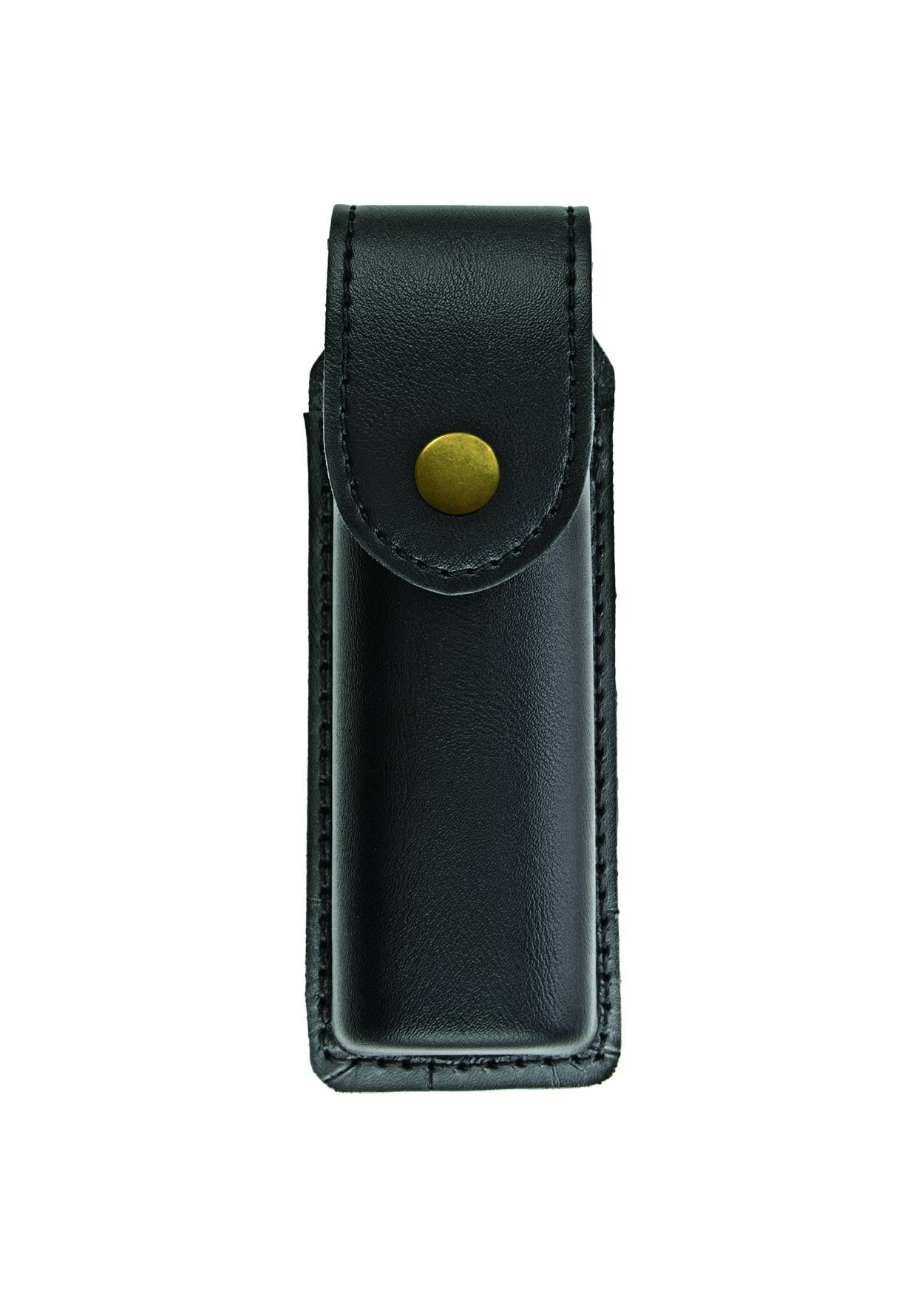 O.C. (Pepper) Spray Case, Medium, MK4, AirTek, Smooth, Gold Snap-