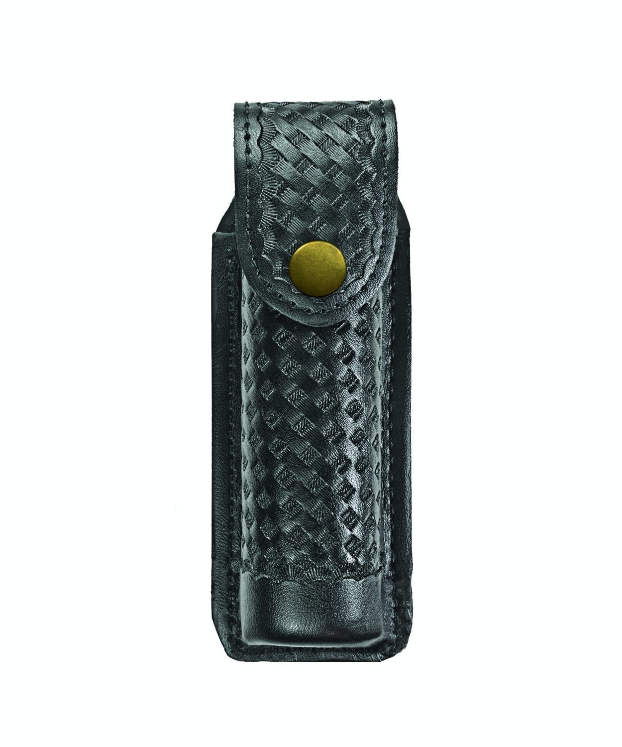 O.C. (Pepper) Spray Case, Medium, MK4, AirTek, BW, Gold Snap-