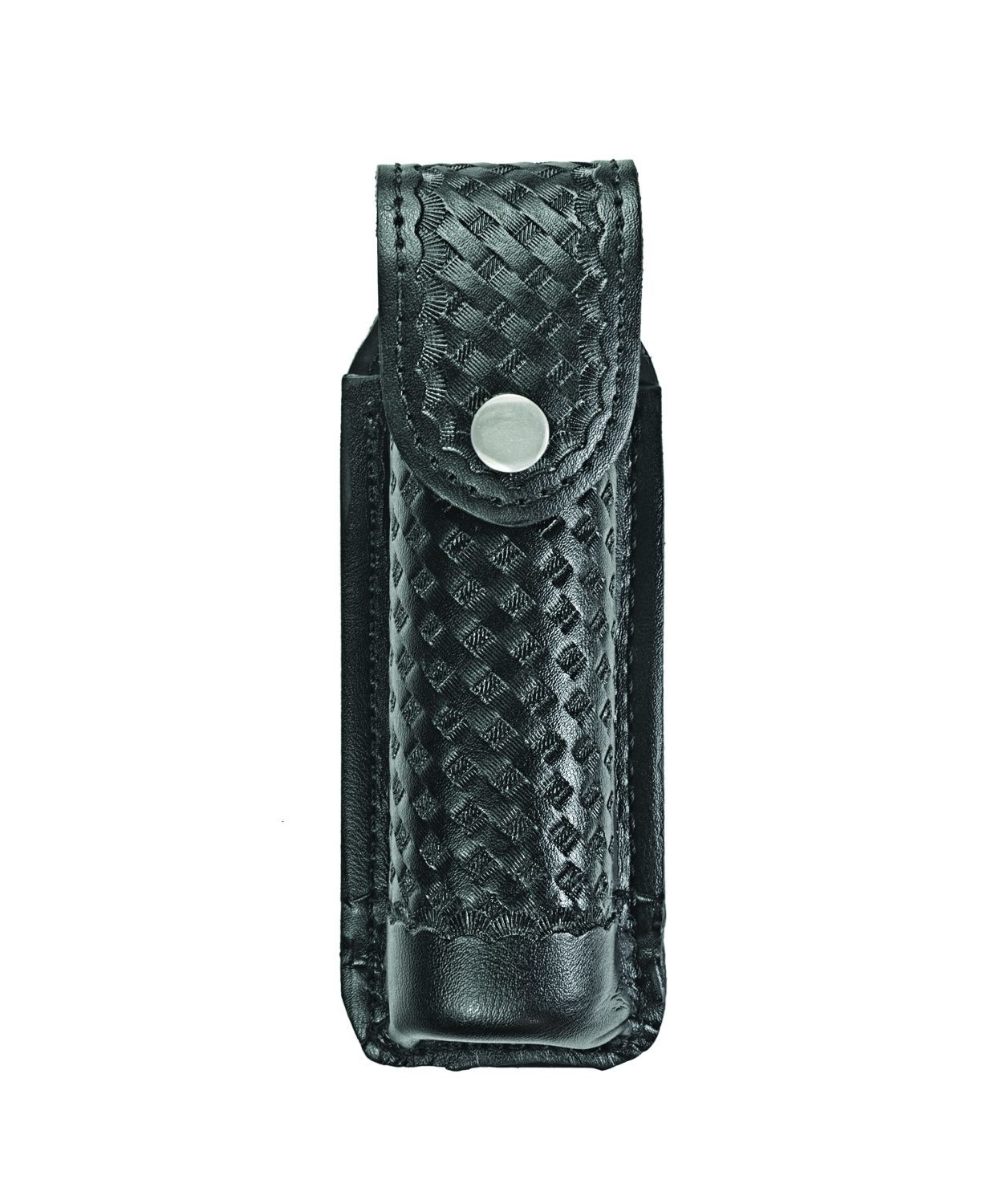 O.C. (Pepper) Spray Case, Medium, MK4, AirTek, BW, Nickel Snap