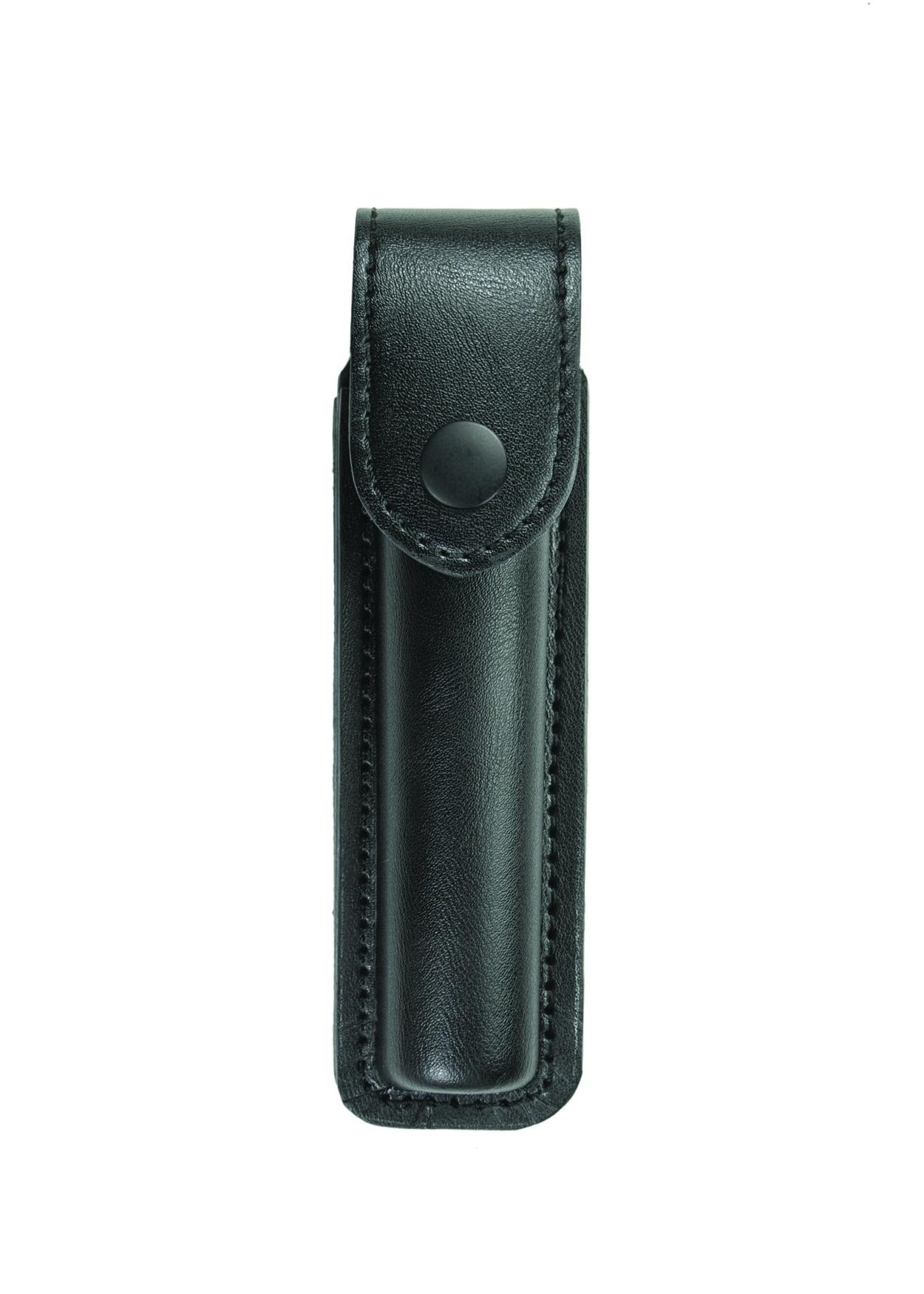 Flashlight Case, Small AA LED, AirTek, Smooth, Black Snap