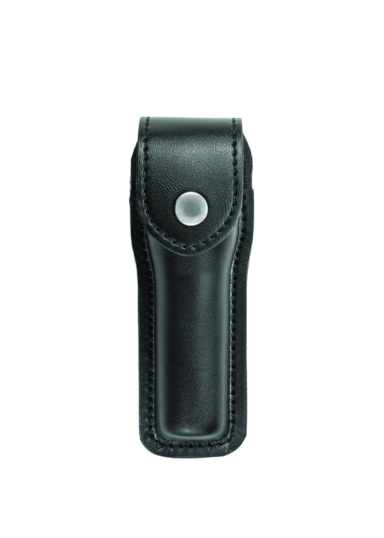 Flashlight Case, Small, AirTek, Smooth, Nickel Snap-
