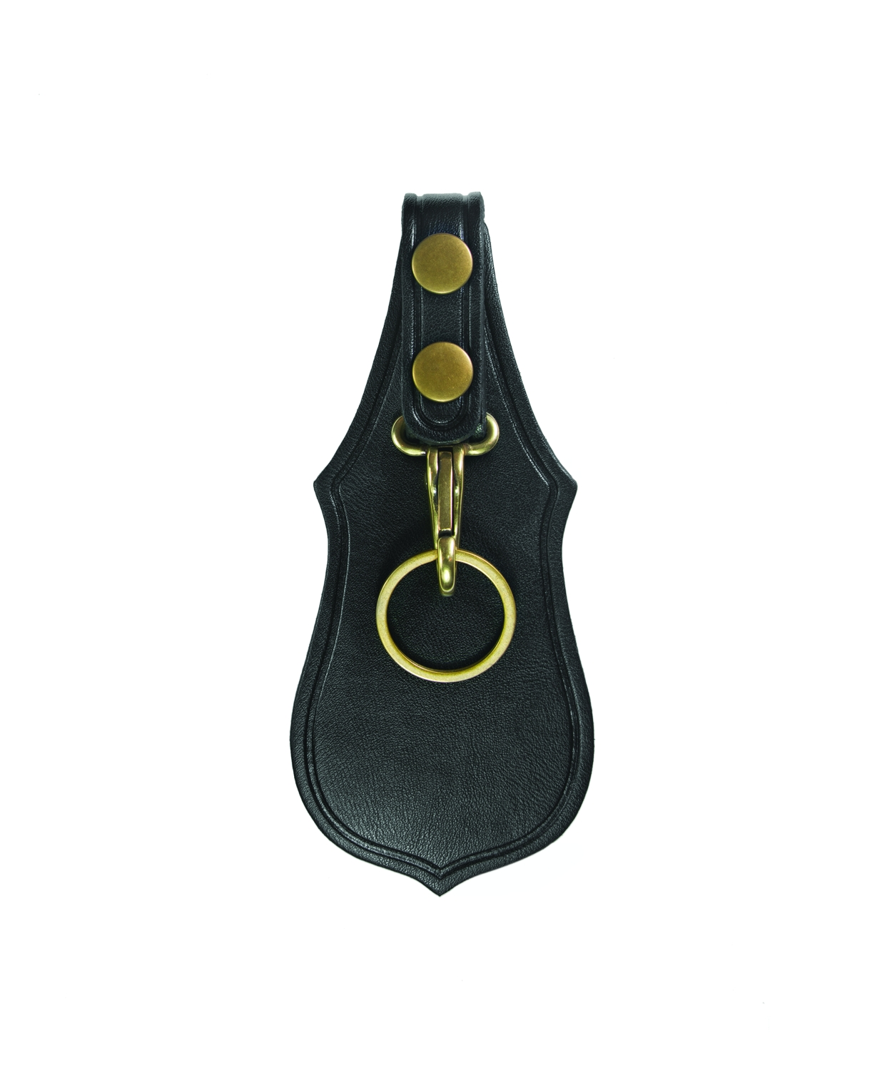 Key Holder, Scabbard, Single, AirTek, Smooth, Brass Snaps-