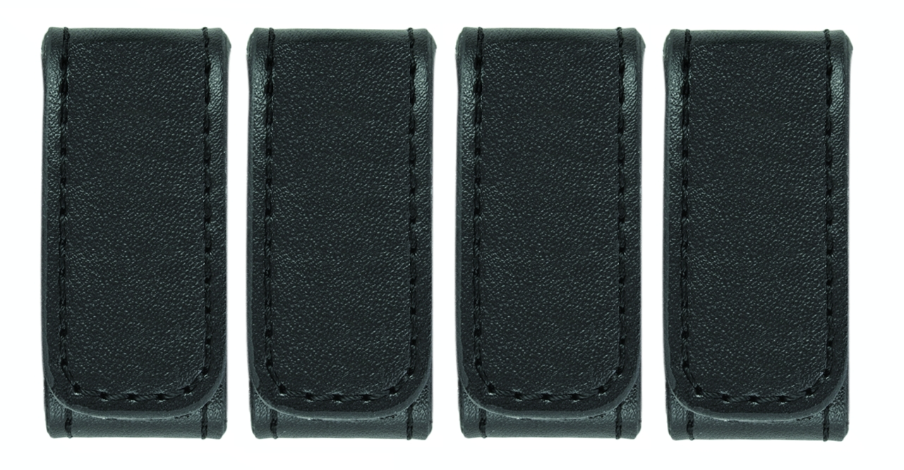 "Belt Keepers, 2 1/4"" Belt, 2 Pack, Deluxe, AirTek, Smooth, Hidden Snaps-Hero's Pride"