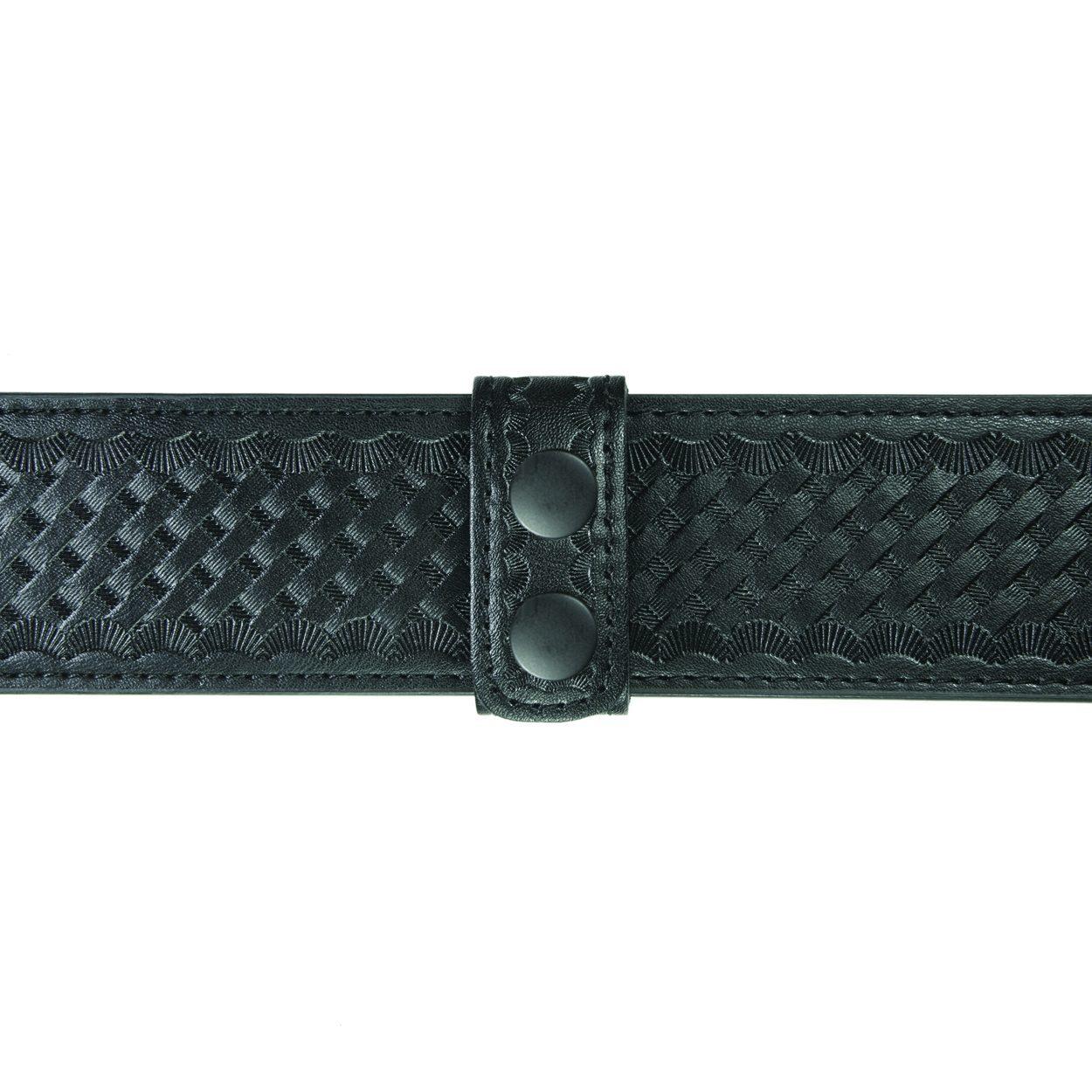 "Belt Keepers, 2 1/4"" Belt, 2 Pack, Deluxe, AirTek, BW, Black Snaps-"