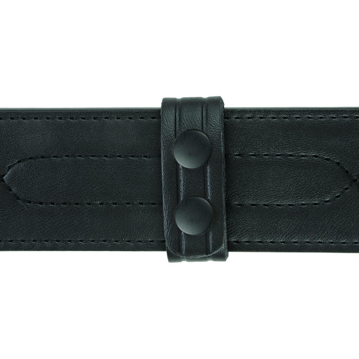 "Belt Keepers, 2 1/4"" Belt, 4 Pack, Standard, AirTek, Smooth, Black Snaps"
