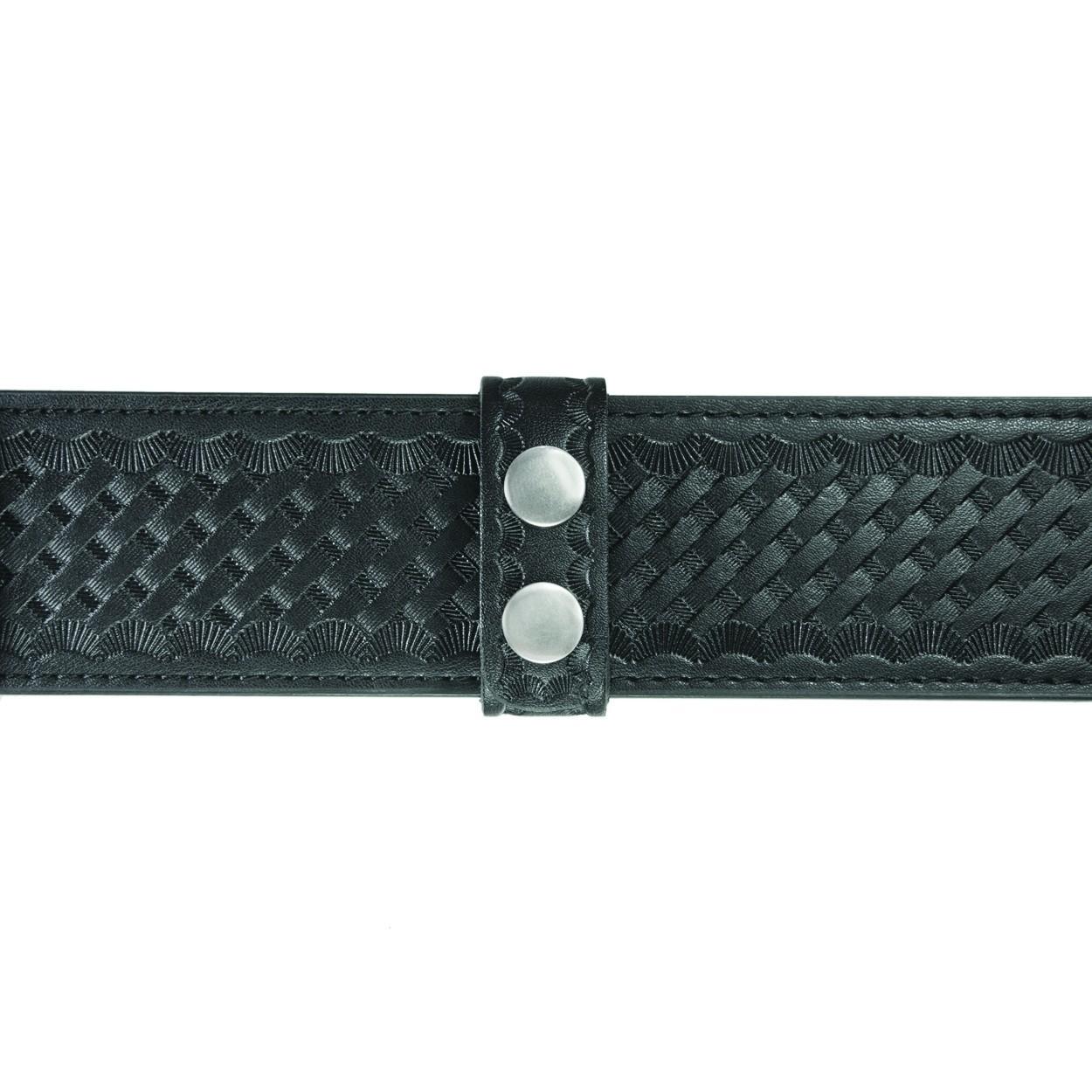 """Belt Keepers, 2 1/4"""" Belt, 4 Pack, Standard, AirTek, BW, Nickel Snaps-"""