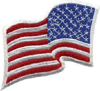 U.S. Flag - Wavy - Reversed - 3-1/4 X 2-1/4-