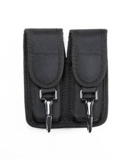Double Magazine Pouch w/2 Clips - Medium-