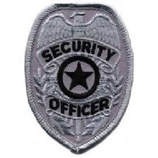 Silver Security Officer Badge-