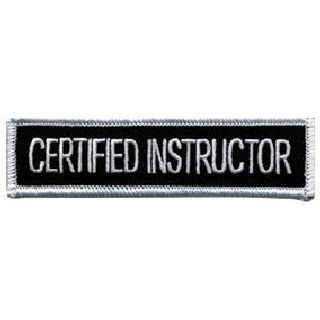 "Certified Instructor - 4 X 1""-Hero's Pride"