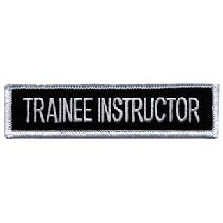 Trainee Instructor - 4 X 1""
