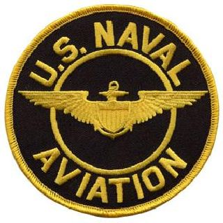 "U.S. Naval Aviation - 4"" Circle-"