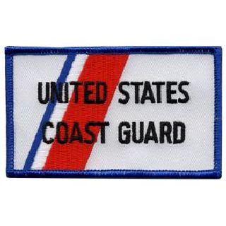 "United States Coast Guard - 2-1/4 X 3-7/8""-Hero's Pride"