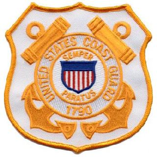 "Coast Guard (Shield) - 4-1/2 X 4-1/2""-Hero's Pride"
