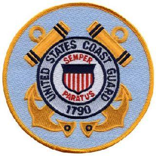 "Coast Guard - 5"" Circle-Hero's Pride"