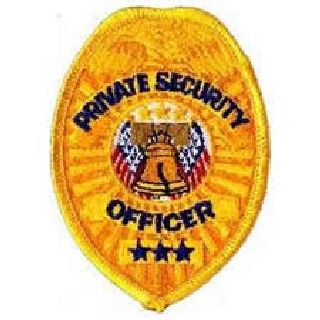 Badge-Gold-Private Security Officer-Hero's Pride