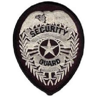 Security Guard - Silver/Black-
