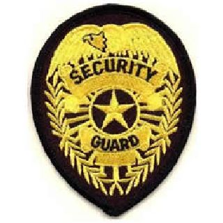 3716 Security Guard - Med Gold/Black-Hero's Pride