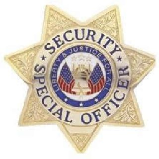 Security Special Ofcr. - Star - Traditional - Nickel-