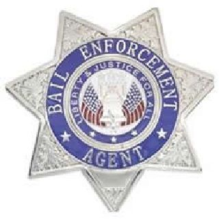 Bail Enforcement Agent - Star - Traditional - Gold-Hero's Pride