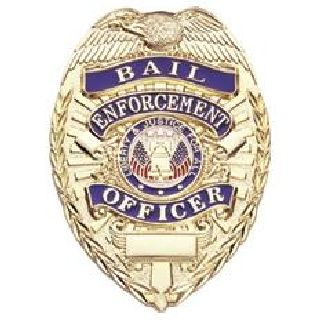 Bail Enforcement Officer - Oval - Traditional - Nickel
