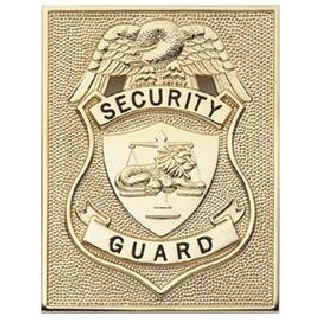 Security Guard - Rectangle - Traditional - Gold-