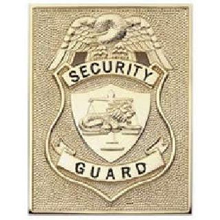 Security Guard - Rectangle - Traditional - Nickel-Hero's Pride