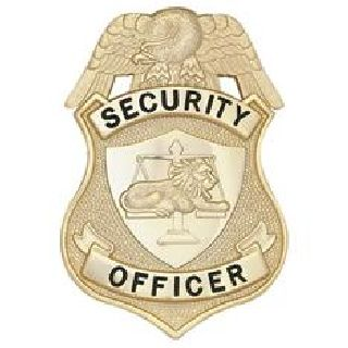 Security Officer - N.Y. - Traditional - Gold-Hero's Pride
